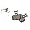 Reverse AirCon Remblok & Remschoen for Formula Mega 2pc zwart